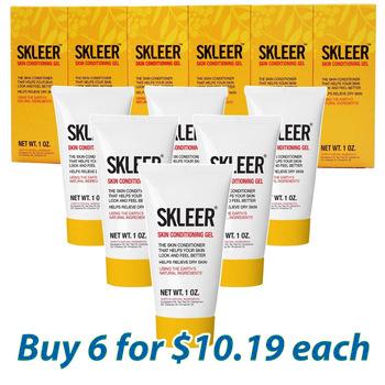 SKLEER – Natural Skin Restoration Gel – 30ml/1oz X6